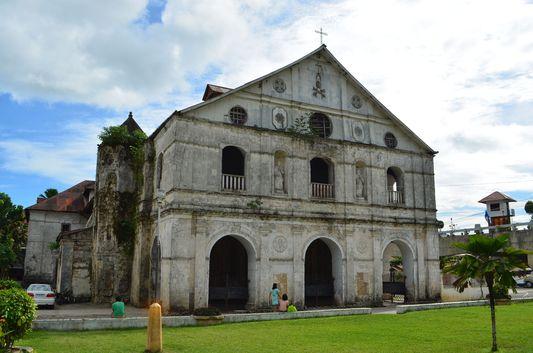 Loboc church in Bohol