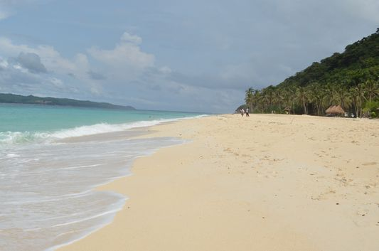 Puka beach in Boracay