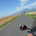 riding to the High Tatras