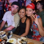 me with Monette and Marky at Captain Morgan Party in Manila 2011