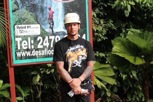 Chris in Costa Rica