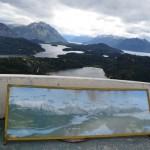 traveling around windy lakes near Bariloche