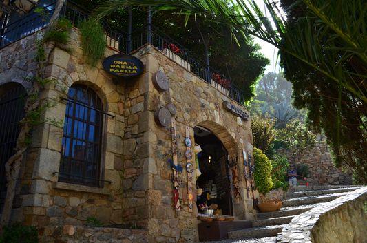 Villa Vella buildings in Tossa de mar