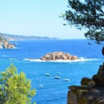 beautiful views from Tossa de mar