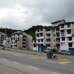 hitchhiking in Cameron Highlands