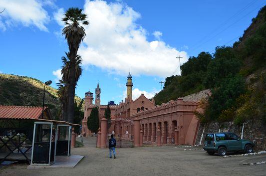 the entrance to the Castillo de la Glorieta