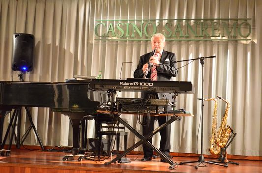 live music in Casino Sanremo