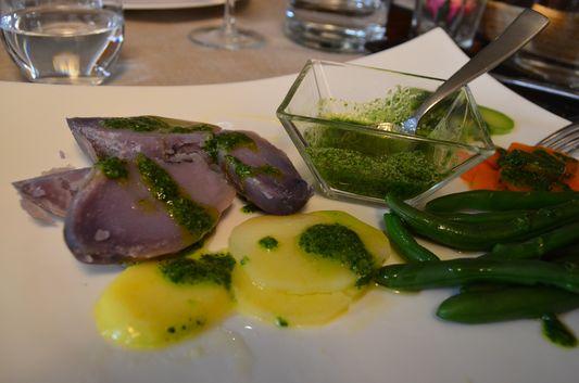 veggies with olive oil in Olio Colto