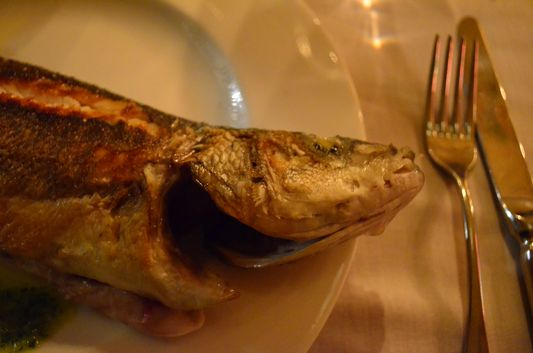 fish I had in MOS restaurant in Cadaques