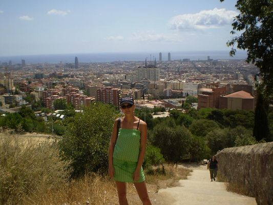the views of Barcelona