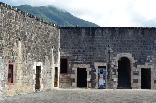 entered Brimstone Hill Fortress St. Kitts
