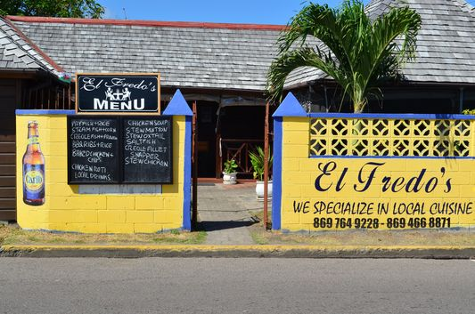 El Fredo's restaurant St. Kitts