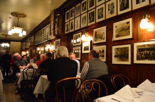 John's Grill interior