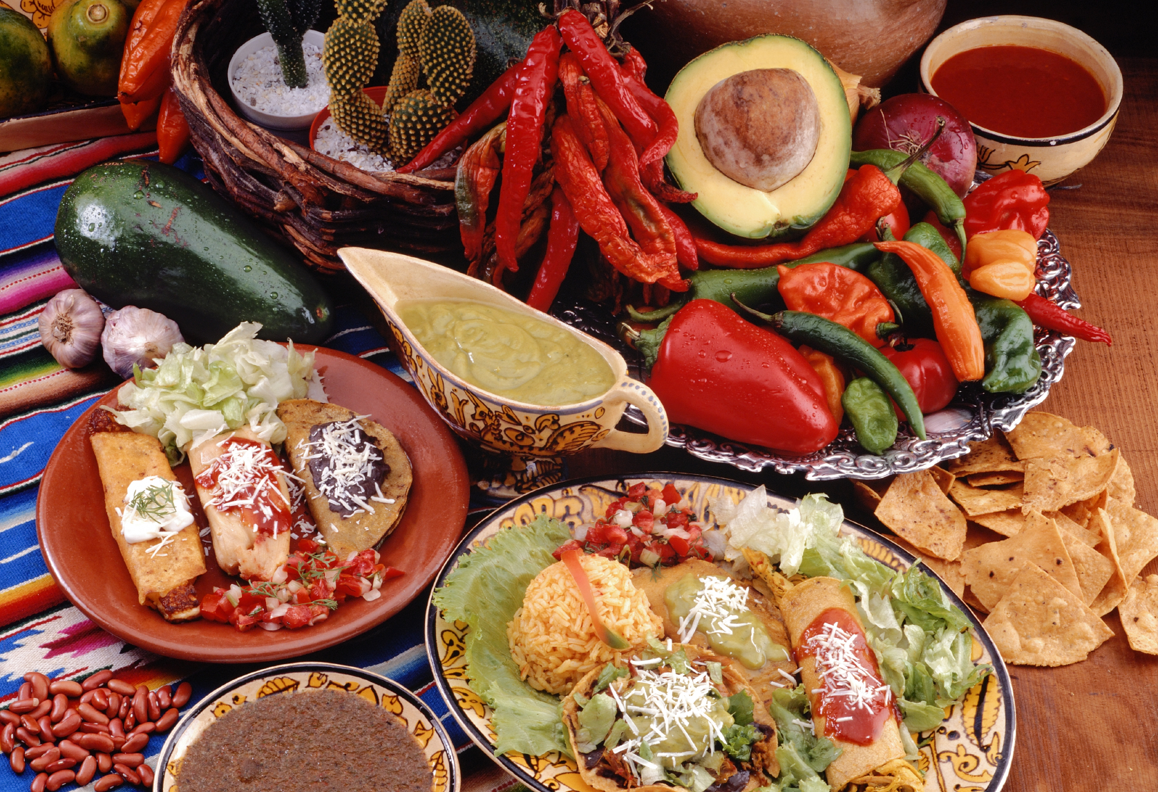 traditional mexican foods the image kid