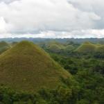 Carmen Chocolate Hills in Bohol