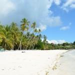 Dumaluan beach in Bohol
