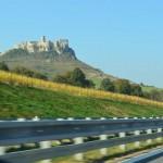 Spissky castle in Eastern Slovakia