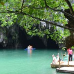 Underground River in Palawan in the Philippines