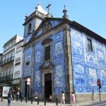 blue Capela das Almas in Porto